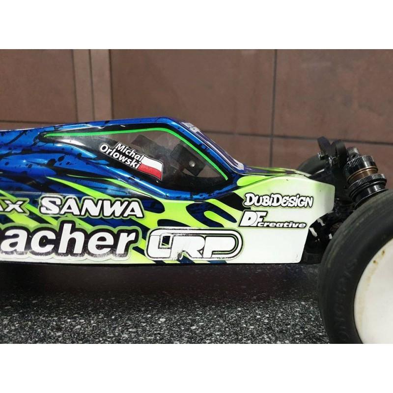 Transponder mount for Schumacher Cougar