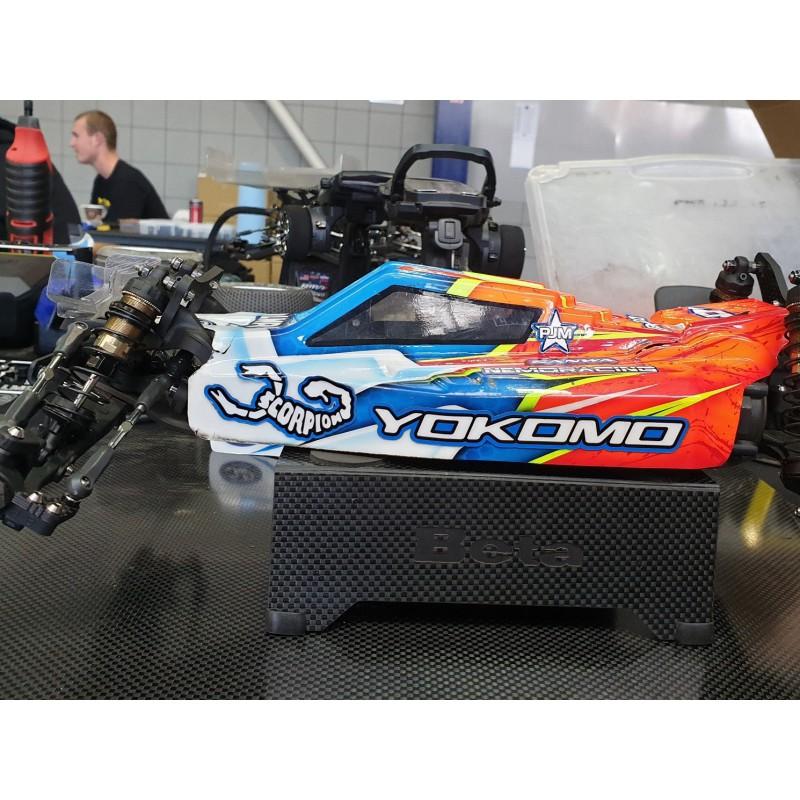 Transponder mount for Yokomo YZ-2