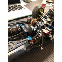 Transponder mount for B64 Team Associated