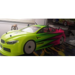 Transponder mount for touring cars