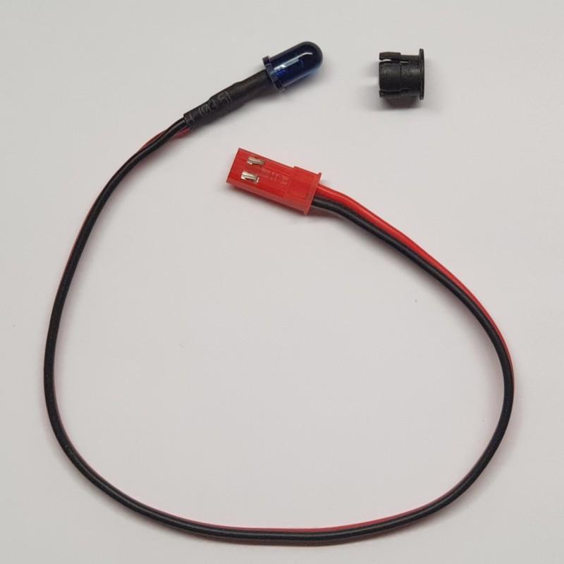 Emetteur LED additionnel pour puce avec connecteur JST