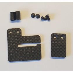 Support generic sur batterie LiPo pour TT 1/8 brushless