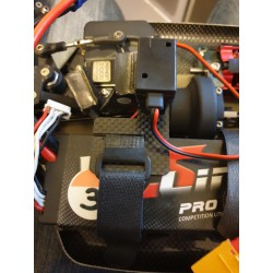 Generic mount on LiPo battery for 1:8TH brushless cars