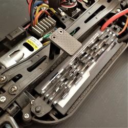 Transponder mount for TT01-E