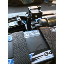 Transponder mount for RC8B3e Team Associated